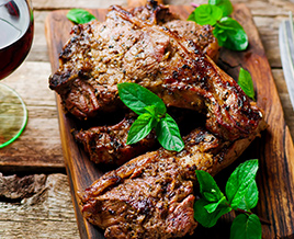 Delicious Farmway Foods lamb chops